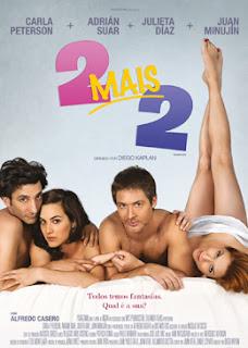 """Poster do filme """"2 Mais 2"""""""