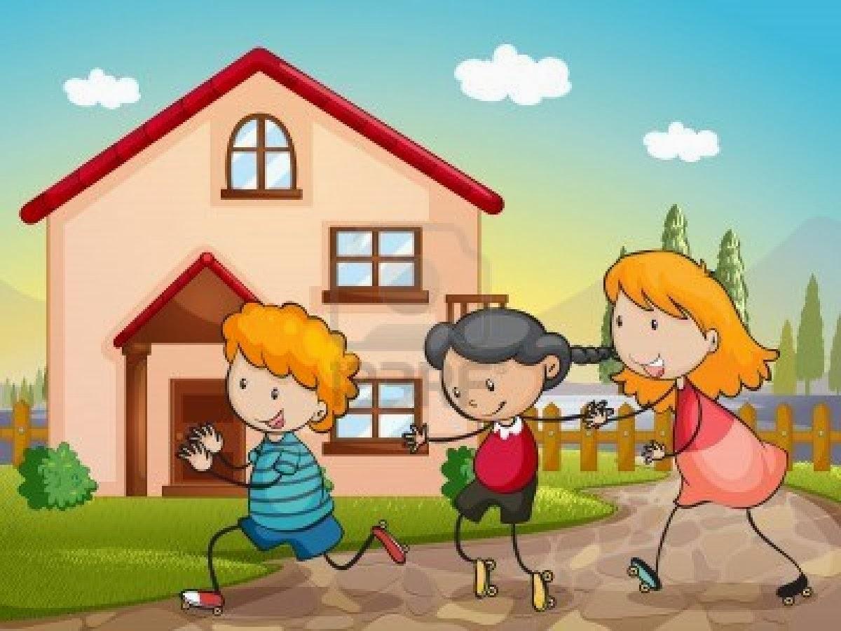 Jugueteando al aprendizaje voy llegando bienvenida for Casa de jardin ninos