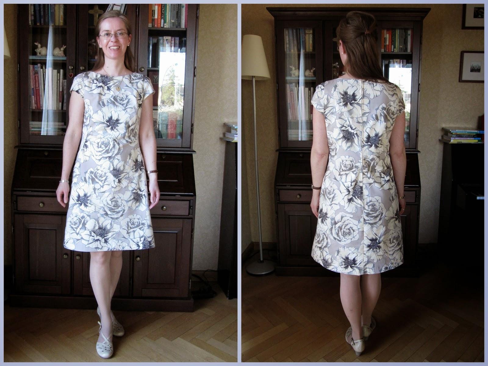 little el 60er jahre kleid burda 9 2012 108 60s dress. Black Bedroom Furniture Sets. Home Design Ideas