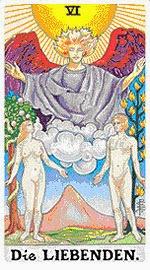 Значение на Таро карта VI Влюбените - хороскоп за 2015 година