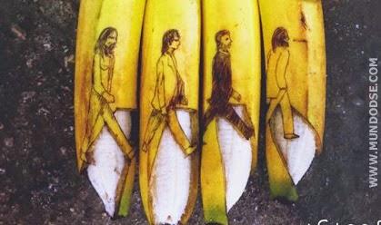 18 Incríveis manipulações artistícas feitas em bananas