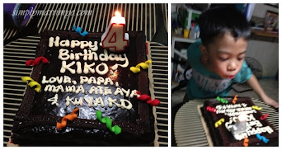 Kiko's 4th birthday cake