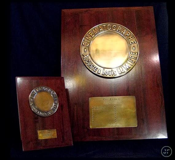 trophée prix lumiere création jérome faure design