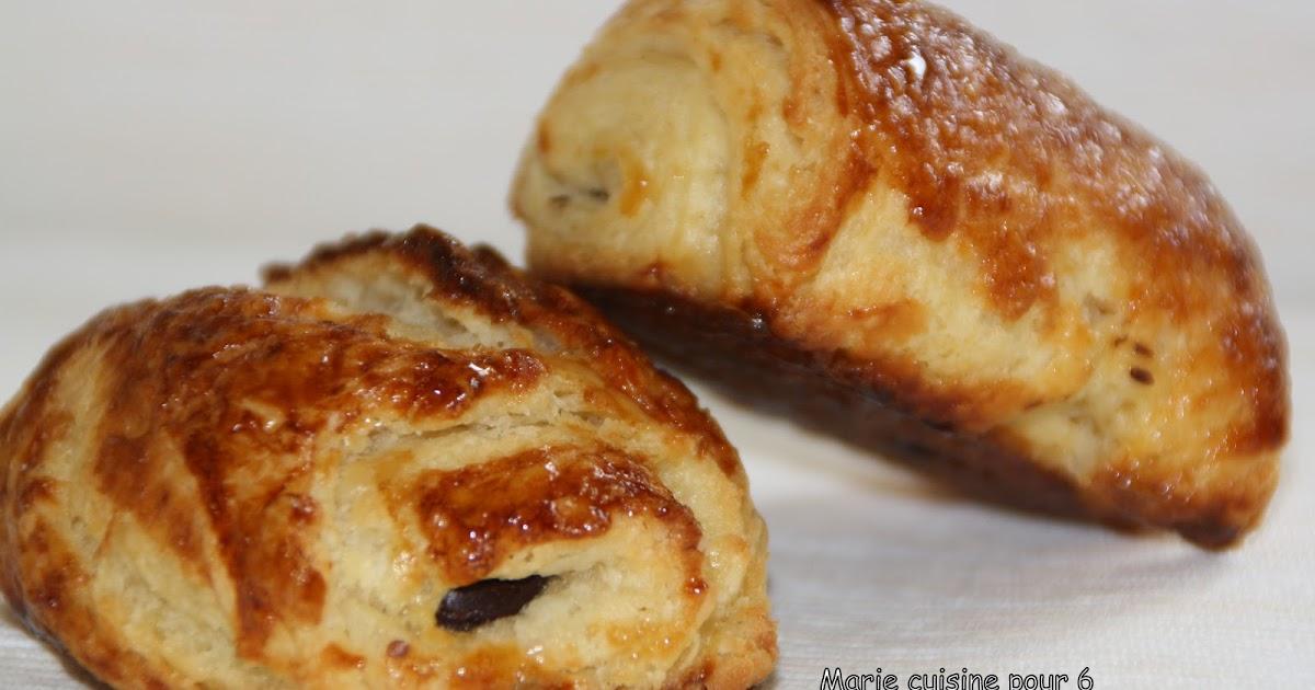 Marie cuisine pour 6 pains au chocolat faits maison - Pain au chocolat maison ...