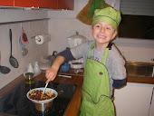 La cucina di LUCA   (la cuisine de Luca)
