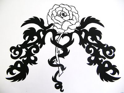 rose tattoos for girls. rose tattoos for girls. black