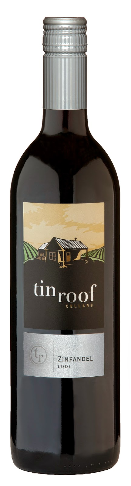 bottle of Tin Roof Cellars Zinfandel, 2011