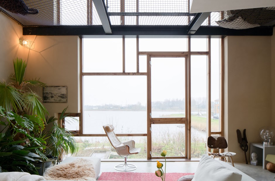 Netz als Sicherung der Treppe - ein leichter Selbermachen Tipp für Häuslebauer