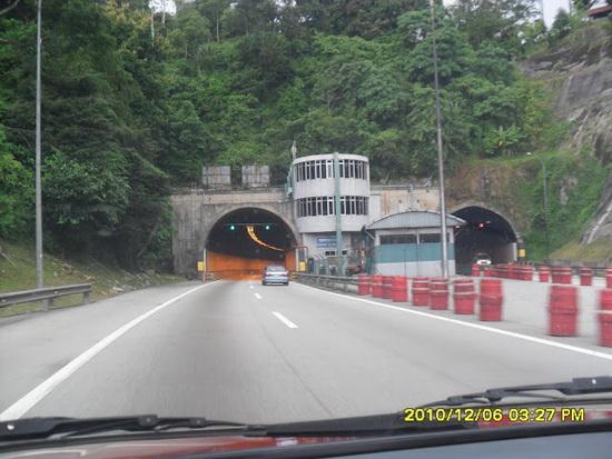 Terowong Karak | Terowong Jalanraya Pertama di Malaysia