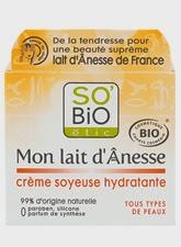 So bio étic crème de jour au lait d'ânesse