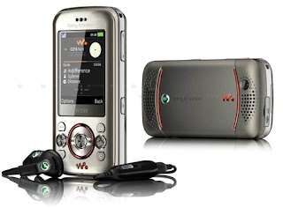 Sony Ericsson W205 nice looking newest small and smart phone