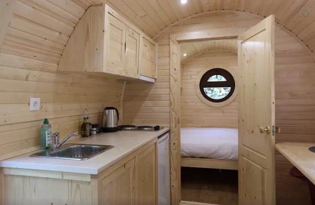 Casas de madera dise o interior - Interiores de casas prefabricadas ...
