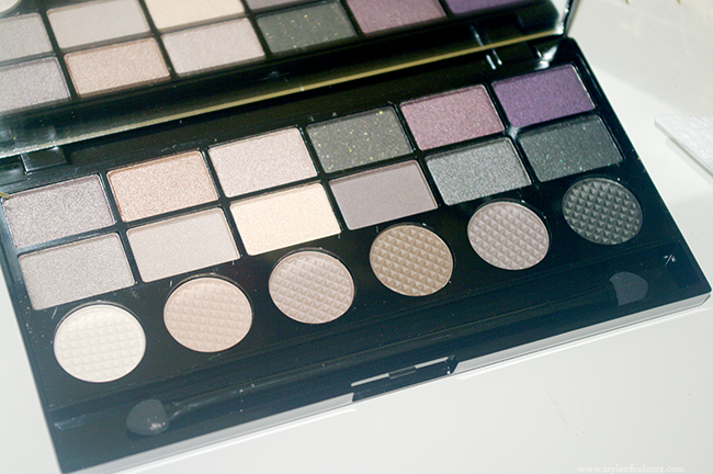 Makeup Revolution Hard Day Palette shades