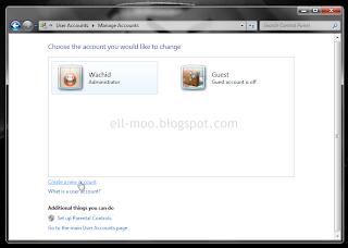 Bagaimana Cara Membuat Akun Pengguna Baru di Windows 7 dan Windos Vista
