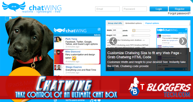 bloggerstech.com chatwing