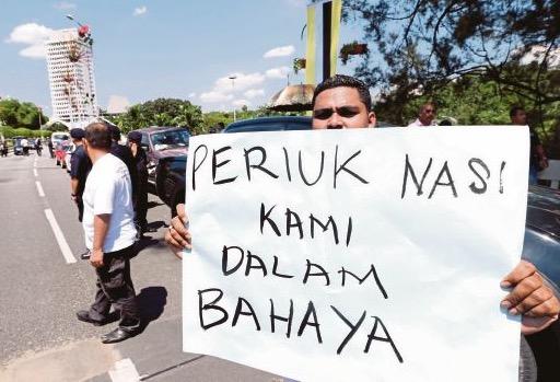"""""""Periuk Nasi Kami Dalam Bahaya!"""" - Pemandu Teksi"""