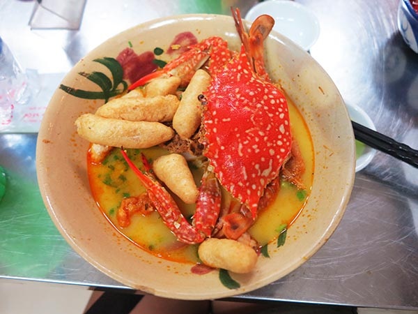 Banh Canh Ghe - Ocean Crab Soup with Tapioca Noodles