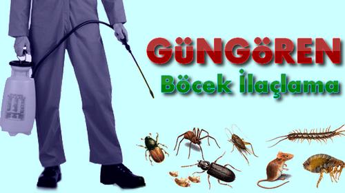 Güngören Böcek İlaçlama