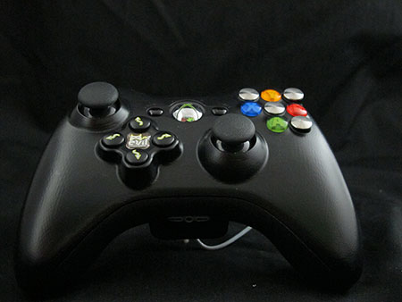 Evil Controllers Accessible Joypad with additional reconfigurable push buttons.