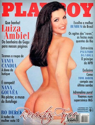 Luiza Ambiel - Revista Playboy - Fevereiro 1996