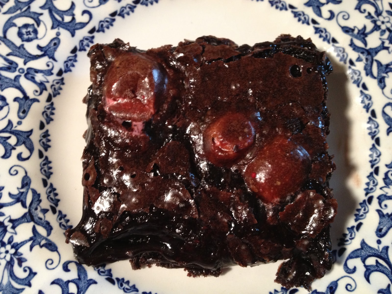 Candy Cane Dark Chocolate Brownies with Cookie Crust ~ Crackerjack23