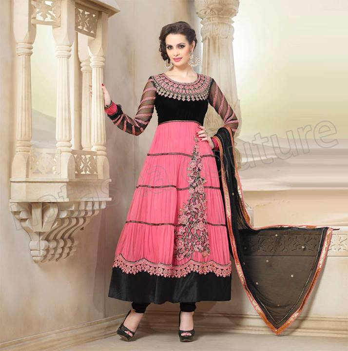 Anarkali embroidery suits collection recommendations to wear for on every day in 2019