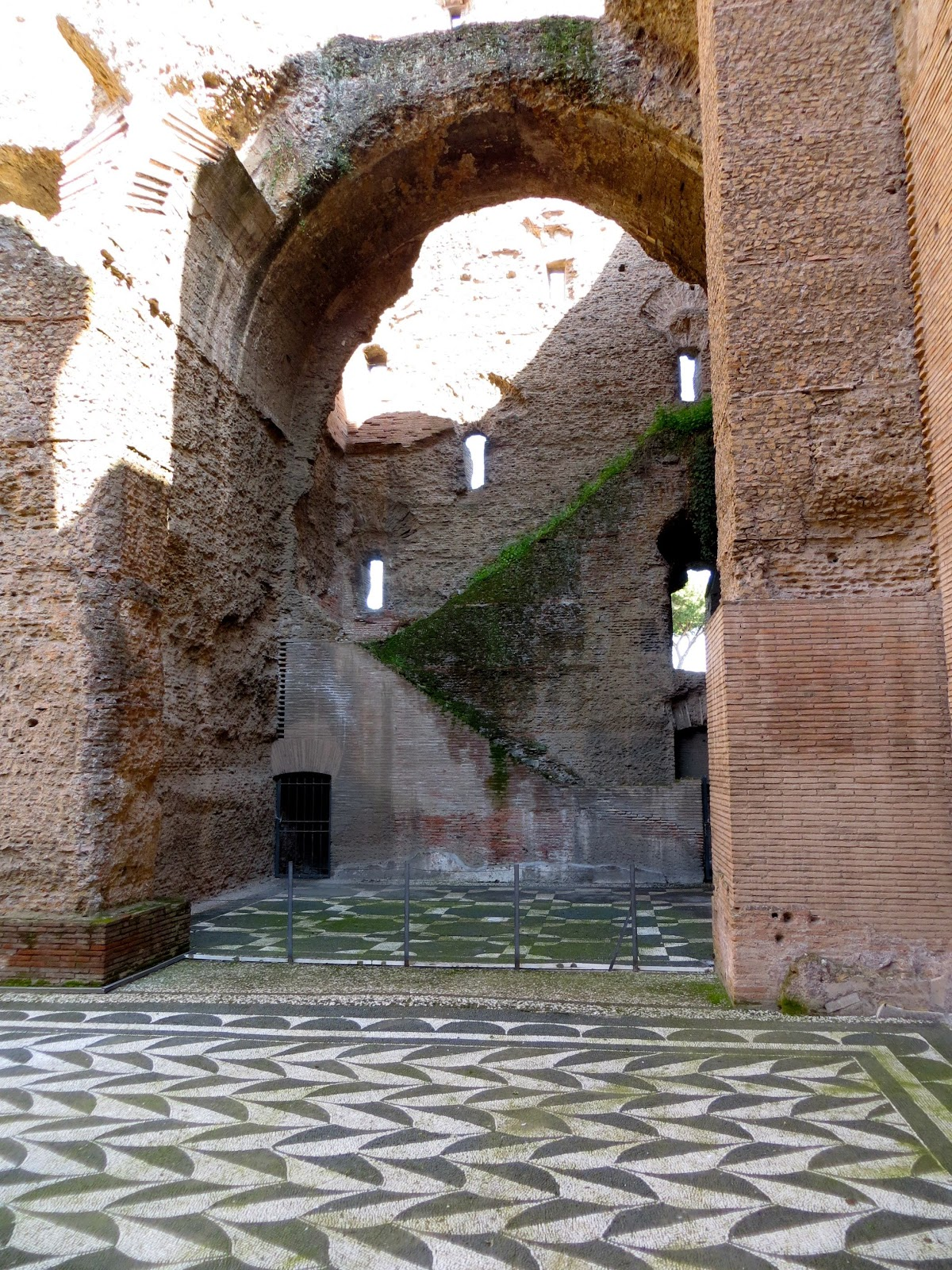 home sweet rome the baths of caracalla. Black Bedroom Furniture Sets. Home Design Ideas