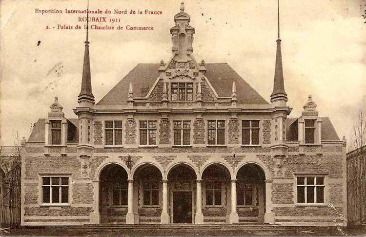 Chroniques de l 39 exposition internationale du nord de la for Architecte grand palais