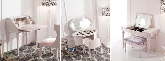 luxury small dressing tables for makeup storage