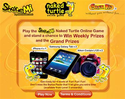 Snek Ku Shoyuemi 'Naked Turtle' Contest