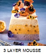 LAVENDER GRANADILLA & WHITE CHOCOLATE MOUSSE