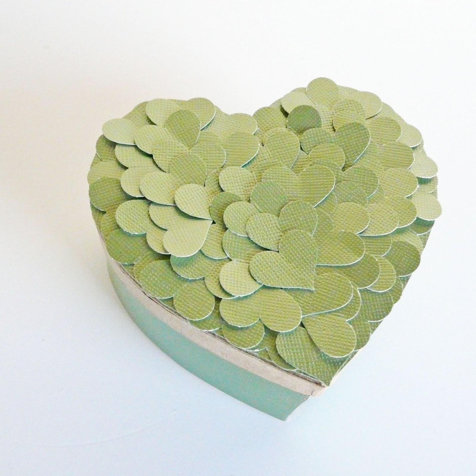 Decorative Boxes How To Make : Make decorative heart box