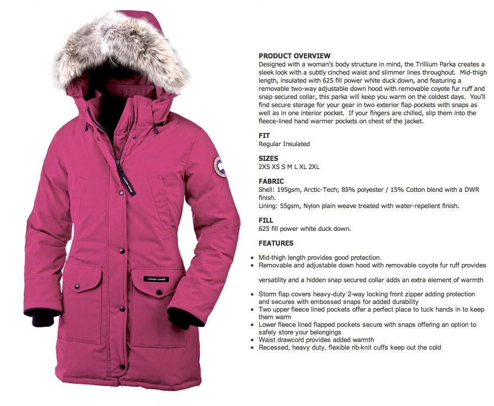 cheap retailers canada goose kensington parka summit pink canada free shipping