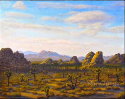 desert,Mojave,Joshua tree, rock,boulder,formation,afternoon,sunset,sundown