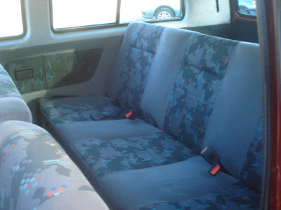 South Africa Vanagon-Caravelle Rear Seat