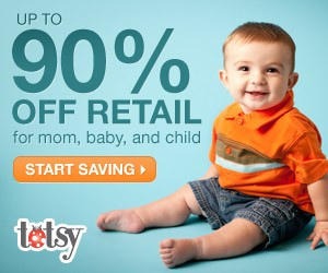 Up to 90% off Retail at Totsy