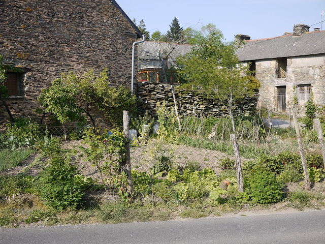 maisons du village de Saint-Ganton