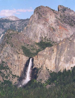 Bridal Veil Falls,Yosemite National Park