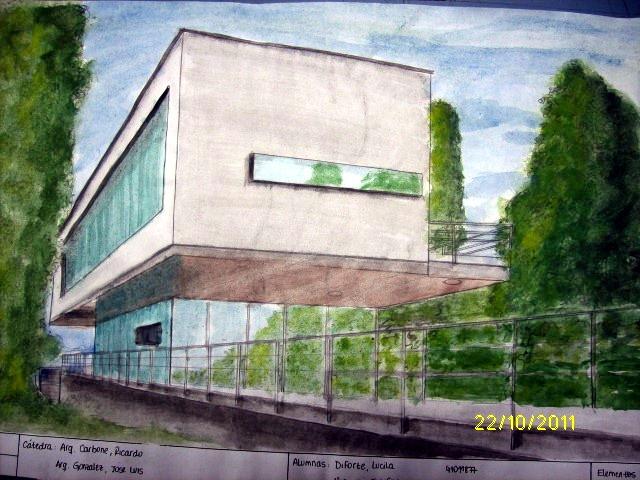 Representaci n gr fica t cnica h meda entrega alumnos for Tecnicas de representacion arquitectonica pdf