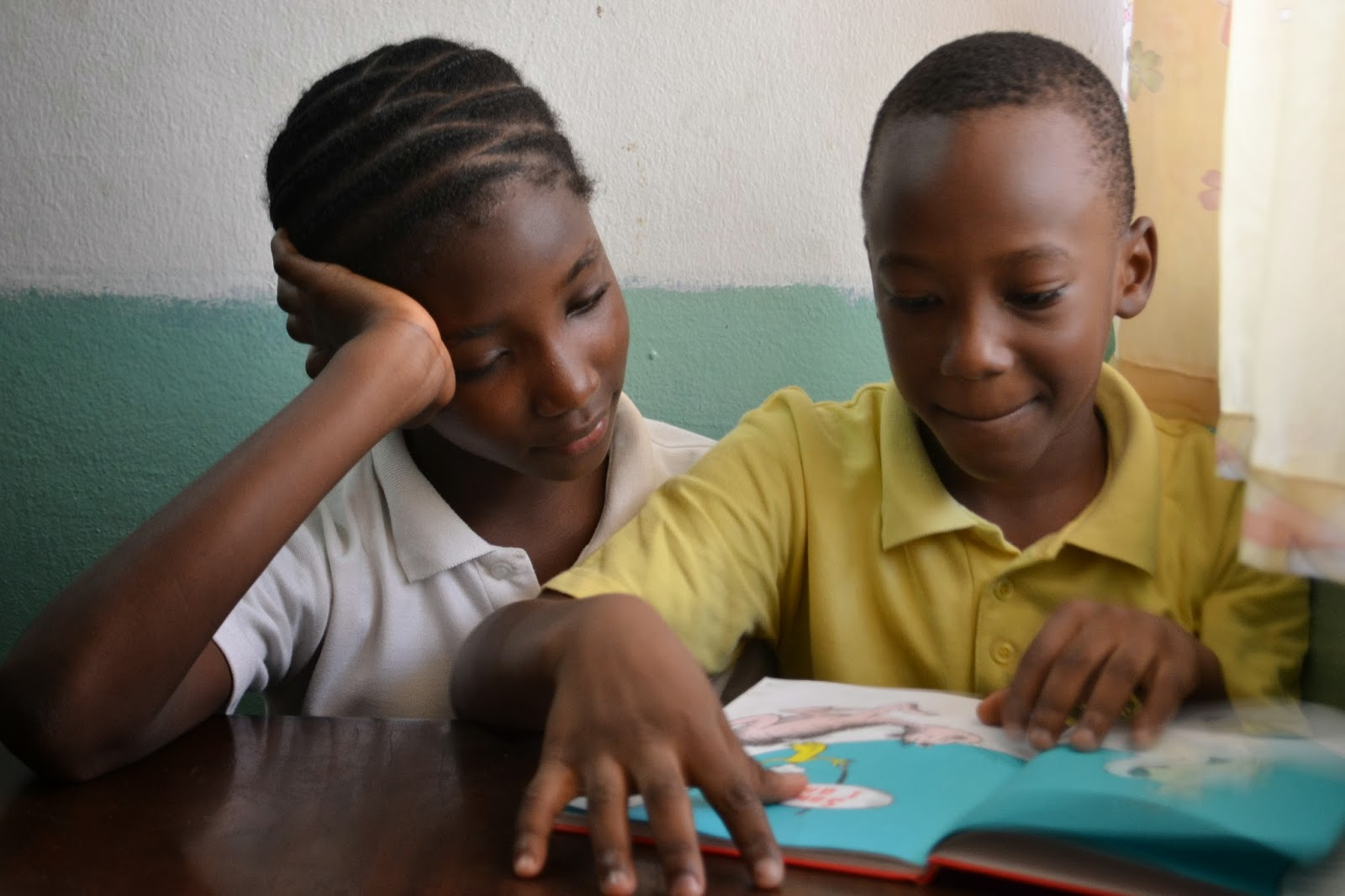 Walking with West Africa: Students in School 2013