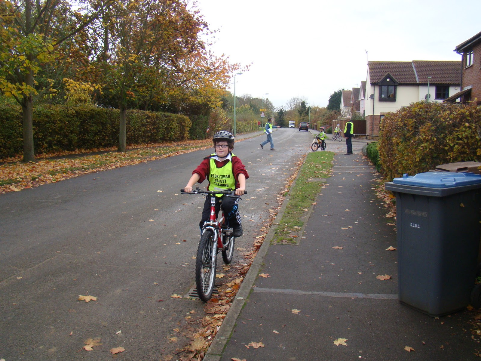 Cycle proficiency test for adults