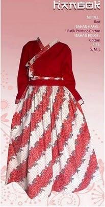 Gambar Baju Gamis Batik Hanbok