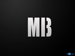 Men in Black 3 MIB 3 Simple Alternate Logo HD Wallpaper