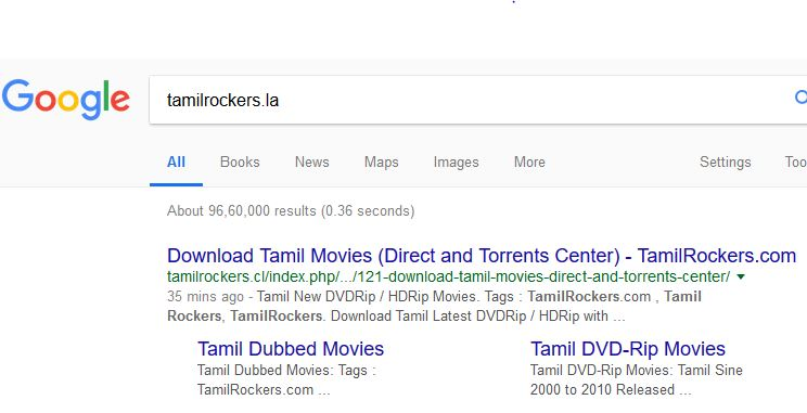 The mystery behind tamilrockers dynamic domain - My PC Ethics
