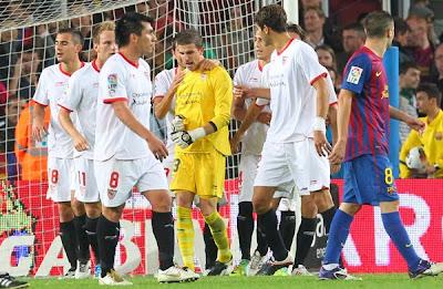 Barcelona 0 - 0 Sevilla (3)