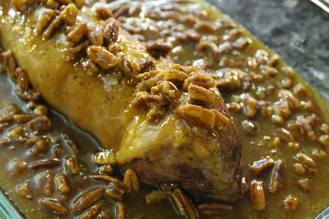 Make Pecan Glazed Pork Tenderloin #Recipe #Foodie #Yum