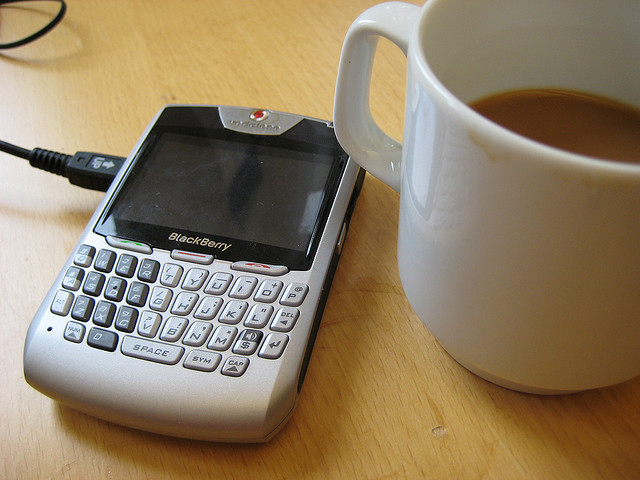 BlackBerry WITH Coffee