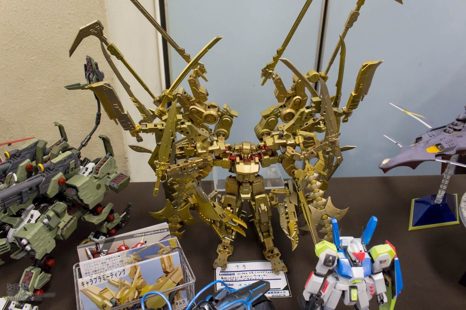 D Printing Exhibition Tokyo : Gundam guy cpm asakusabashi plastic model exhibition
