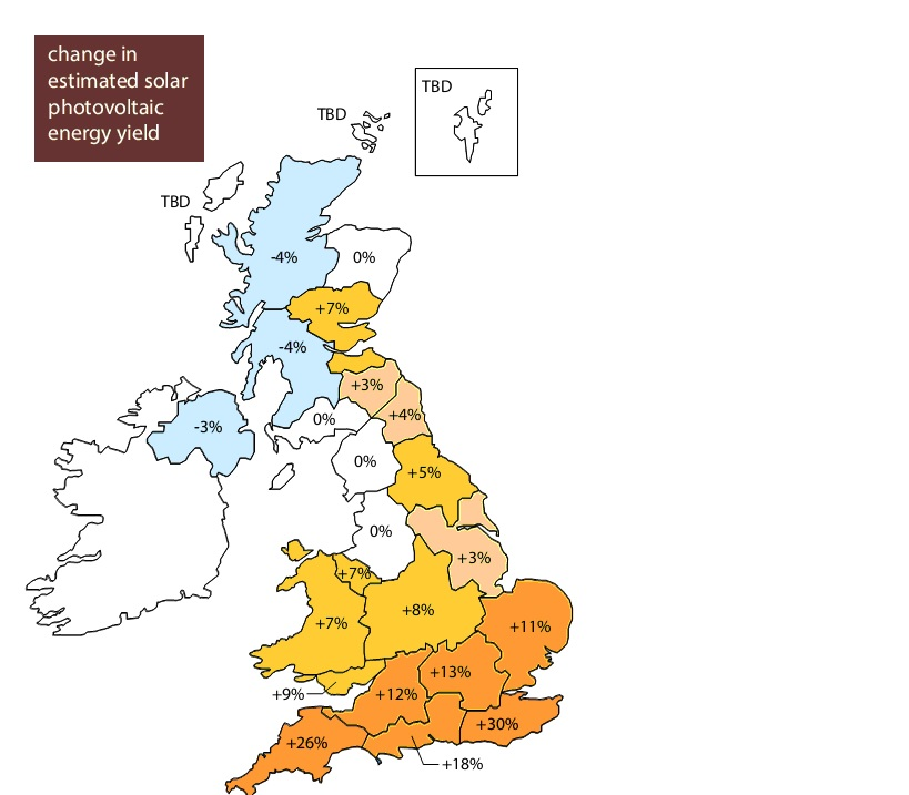 uksolarpowerdiarycouk New Solar PV Panel Output Predictions – Map Uk Solar
