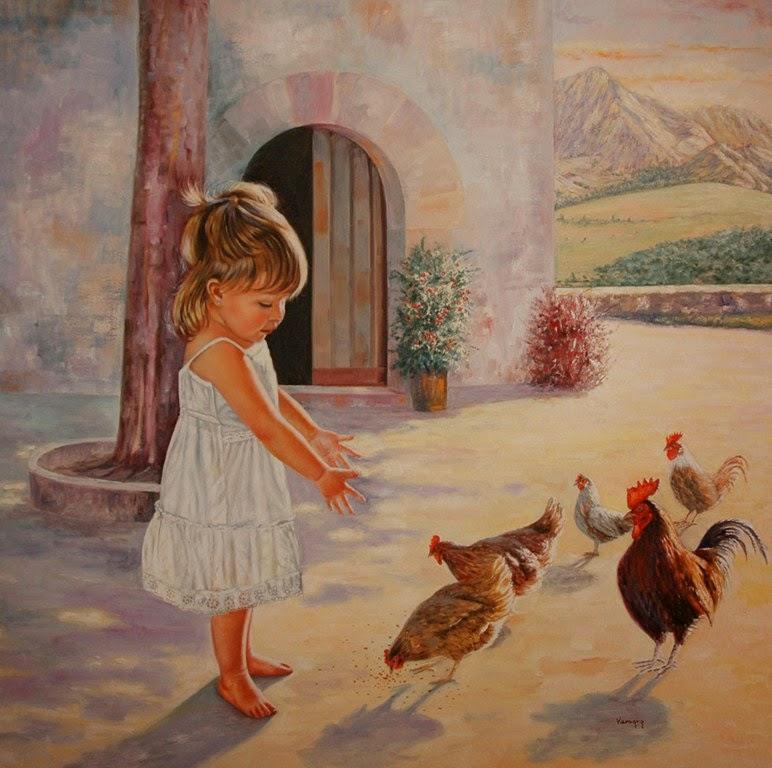 retratos-de-niños-en-realismo-al-oleo